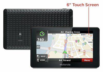 Motorola 6 Inch Sat Nav UK & ROI.