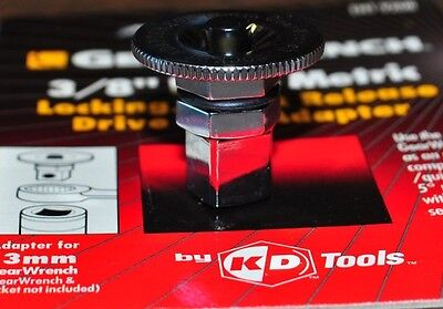 Danaher Kd 9208 Wrench Drive Adapter 13Mm Hex To 3 8  Drive Square W Speed Wheel