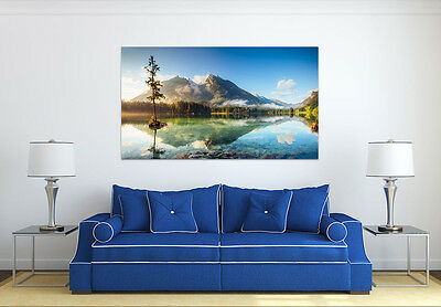3D Mount Lake 8 Wall Stickers Vinyl Murals Wall Print Deco Art AJ STORE AU Lemon ()