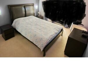 King Size Mattress complete with bedroom suite