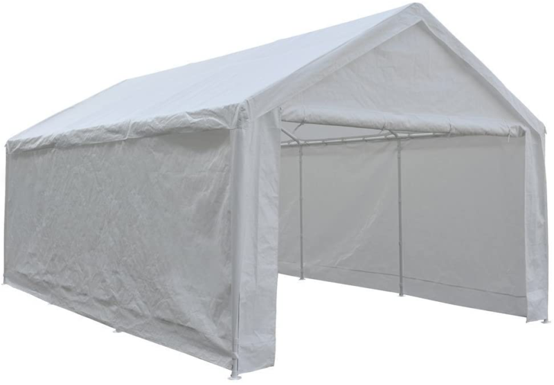 extra large heavy duty carport with removable