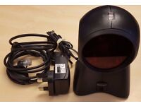 Honeywell Metrologic Orbit MS7120 RS232/LTPN Omni Laser Barcode Scanner Black