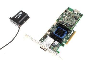 Adaptec ASR-6445 // 8-Kanal PCIe SAS/S-ATA Controller inkl. Flash Modul & BBU