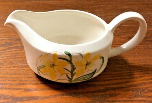Susie Cooper Daffodil Gravy Jug Hand Painted Pattern 2410