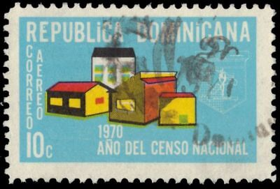 "DOMINICAN REPUBLIC C175 - National Census ""Buildings"" (pa78223)"
