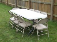 Event Tables and Chairs For Rent!! Best Prices