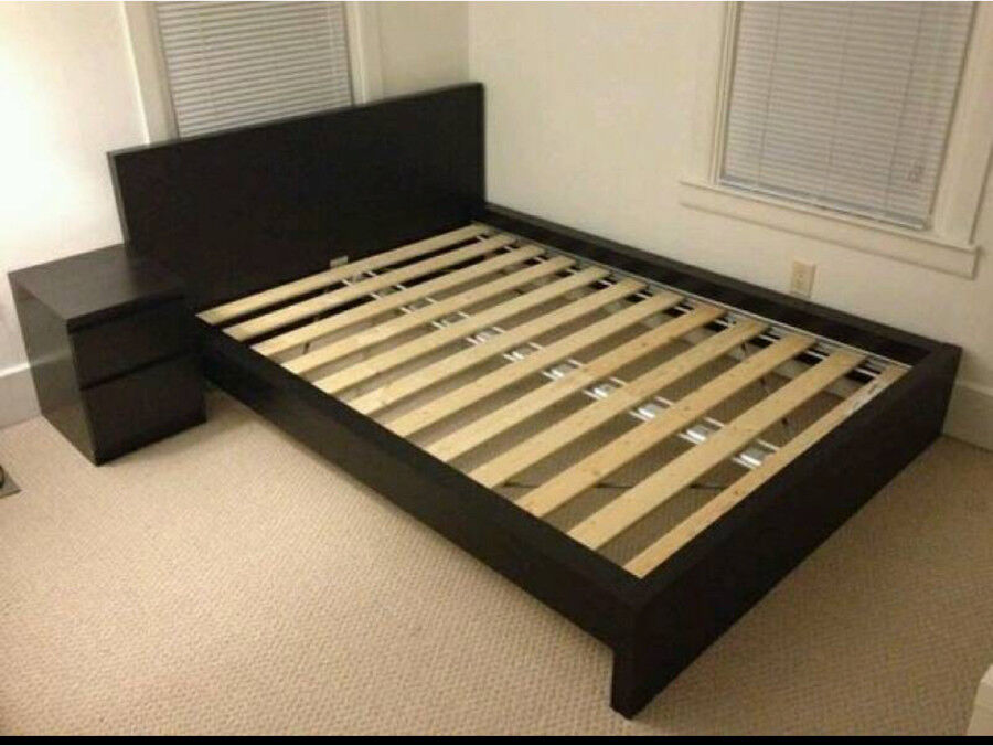 Ikea Malm Bed Queen Size And Matress