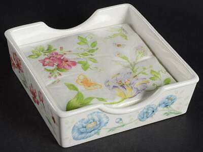 Lenox BUTTERFLY MEADOW Napkin Box& Paper Napkins 10840056 Butterfly Meadow Box