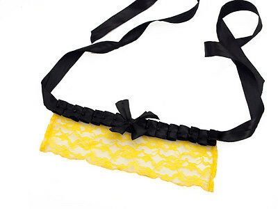 Mask Venetian Wolf in Yellow Lace 1st Price Line Erotic 1250V59