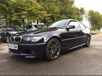 BMW 330d COUPE M sport 6 speed Manual