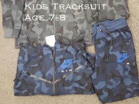 Kids Nike Tracksuit Age 7-12