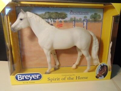 Breyer 2013 Traditional Horse Snowman #1708 - NIB
