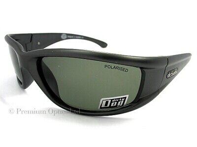 Dirty Dog Gafas de Sol Banger Polarizado Gris Oscuro / Plata Verde...
