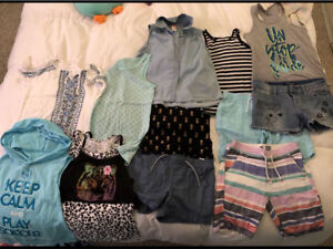 Girls large 10-12 summer clothes
