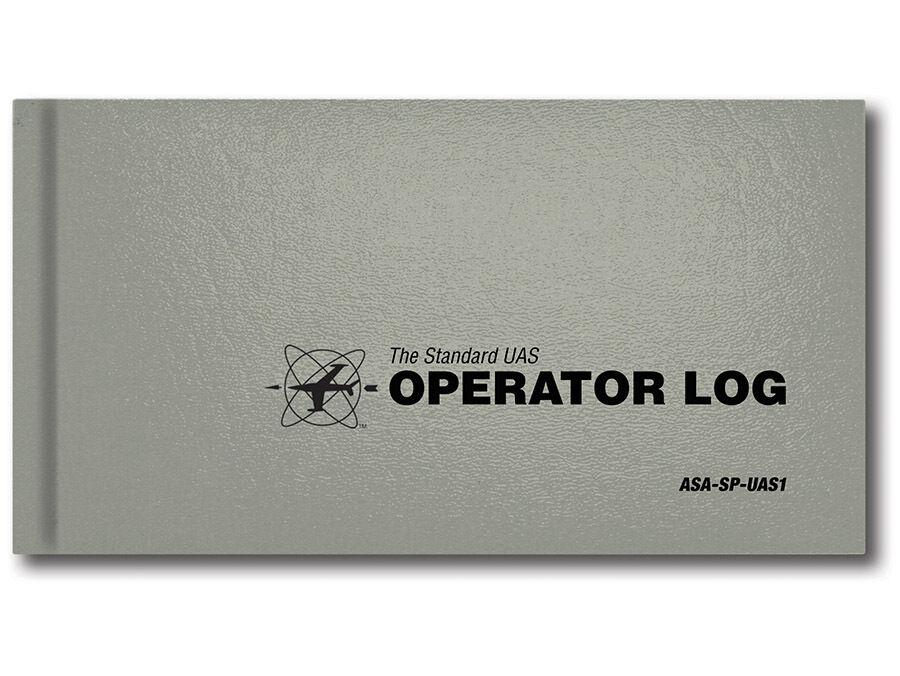 NEW - ASA Standard UAS Operator Log - Gray #ASA-SP-UAS1