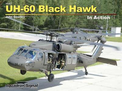 NEW! UH-60 Blackhawk in Action, army helicopter, 2019 ed (Squadron Signal 10263) for sale  Poughkeepsie