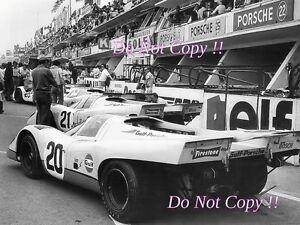 Jo Siffert & Brian Redman Gulf Porsche 917 K Le Mans 1970 Photograph 2