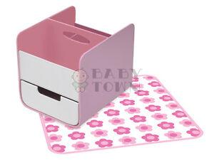 b.box Essential Nappy Caddy Pink