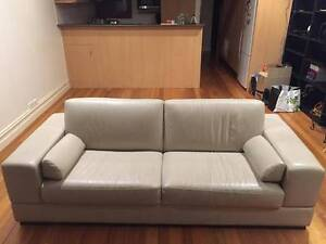 2 x Divano hand-built leather couches Carlton North Melbourne City Preview
