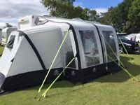 Sunncamp Ultima Air 280 Plus Awning with two bed compartments