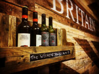 Quality handmade rustic wine rack made from pallets