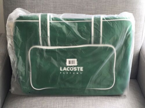 💥Lacoste Parfum Gym Tote Book Overnight Weekender Bag Foldable Promotional Item