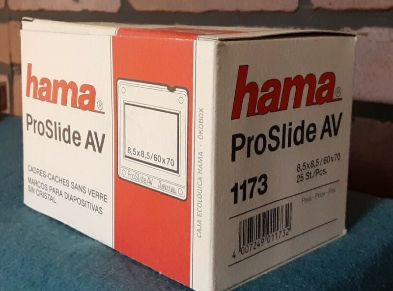 hama ProSlide SLIDE MOUNTS 8.5x8.5 Format Mount-New