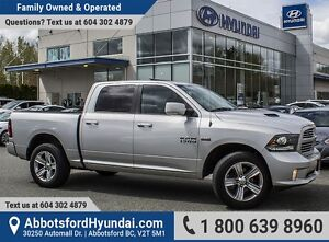2013 RAM 1500 Sport CERTIFIED ACCIDENT FREE