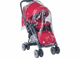 Brand New red Joie Mirus, car seat can be attached to form a travel system