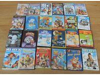 31 Childrens (kids) DVD's --Madagascar, Toy Story, Ice Age, Shrek