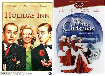 Holiday Inn   White Christmas   Dvds   Bing Crosby Danny Kaye Fred Astaire  New