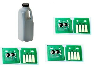 Refill kit Lexmark 51B1000 to MS/MX317 417 517 617 toner 1050g with chips 2.5kX3 1000 Toner Refill