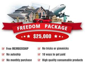 Freedom Package $25,000 value for $149.00