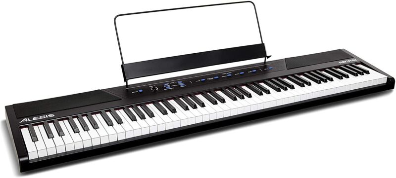 Alesis Recital Digital Piano 88 Full-Sized Semi-Weighted Keys
