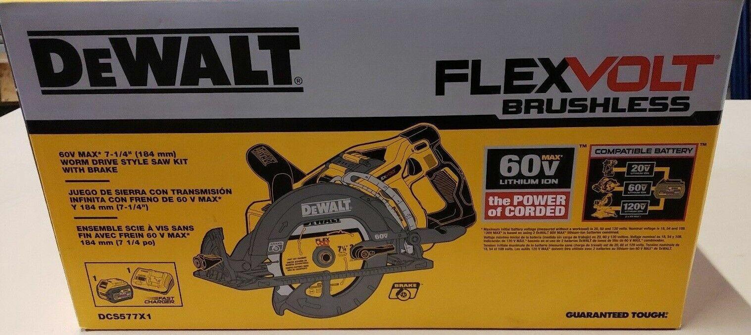 "DEWALT DCS577B Flexvolt 60V Max 7-1/4"" Framing Saw"