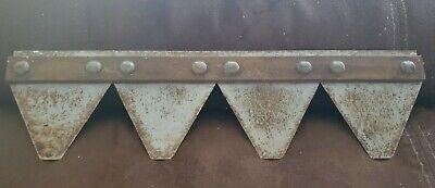 Vintage Hs Sickle Bar Blades Set Of 4