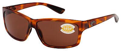 Costa Del Mar Cut Sunglasses UT-51-OCP Honey Tortoise | Copper 580P (Costa Del Mar Cut Tortoise)