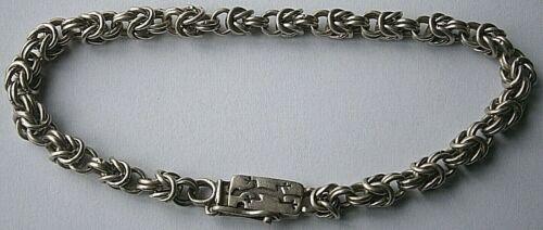 Massive BRACELET Sterling SILVER Vintage 23.4 g ANIMAL Jewelry UNISEX Lizard