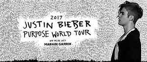 4x Justin Bieber Tickets Melbourne (Hard Copies) $290 EACH Camberwell Boroondara Area Preview