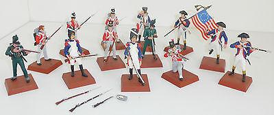 AIRFIX Figuren Konvolut Napoleonische Kriege ca. 6,5 cm 13 Stück bemalt