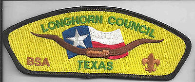 Boy Scout Shoulder Patch CSP - Longhorn Council - Waco, Texas