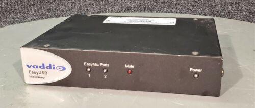 VADDIO EASY USB MIXER / AMP 998-8530-000   NO POWER SUPPLY