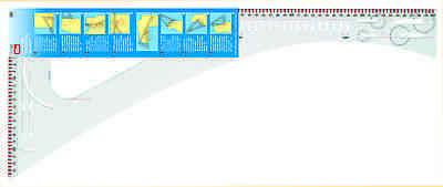 Prym 611499 Schneiderlineal 60cm