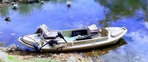 Kayak canoe beavertail stealth 2000 boat fishing