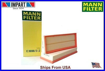 Mercedes Air Filter Set 273 094 04 04 MANN C36983 2