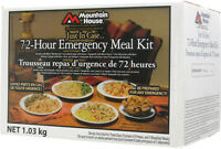 MOUNTAIN HOUSE 72 HOUR EMERGENCY MEAL SURVIVAL KITS