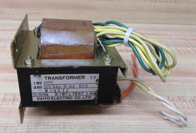 Kaiyo Electric 13277 Transformer