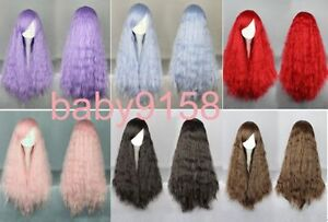 Hot-Sell-6-colors-Lolita-Popular-fluffy-long-curly-Cosplay-wig-wig-cap