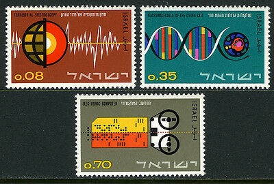 Israel 256-258, MNH. Israel's Contribution to Science, 1964