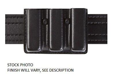 Safariland 775 Slimline Open-Top Triple Magazine Pouch, Black Model# 775-76-13